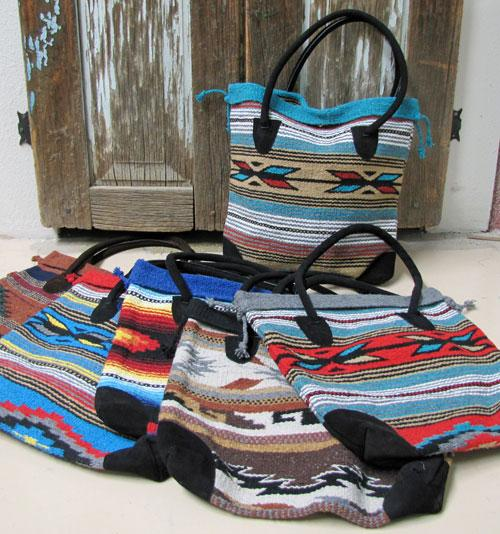 New Monterrey Tote! 6-Classic Southwest Design Tote Bags! WHOLESALE $19.50 ea!