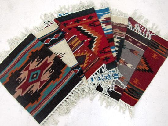 "15"" x 20"" Wool Maya Modern Table Mats from El Paso Saddleblanket"