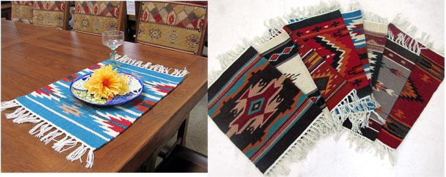6- Maya Modern Wool Mats  WHOLESALE $9.90 ea.!