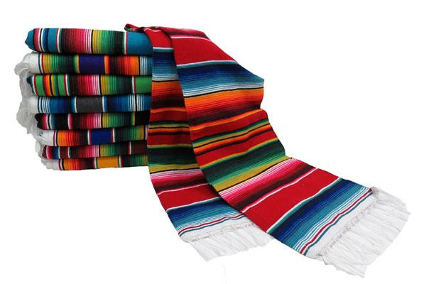 Authentic 5'x7' Mexican Serapes