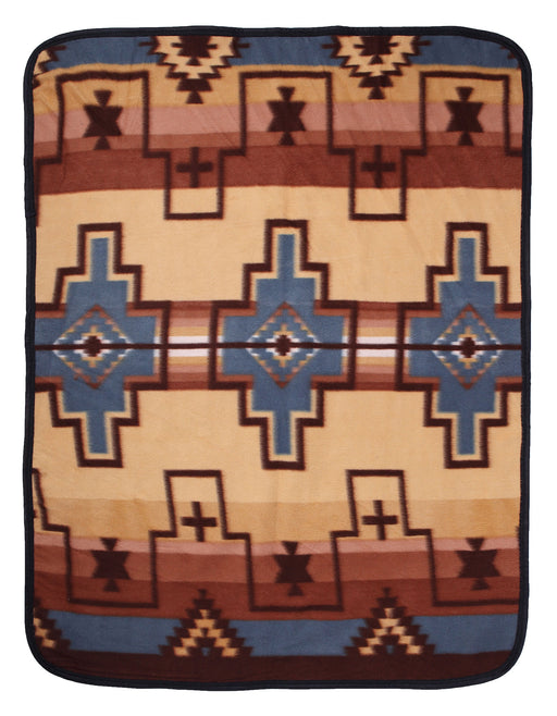 Southwest Fleece Baby Blanket #1B