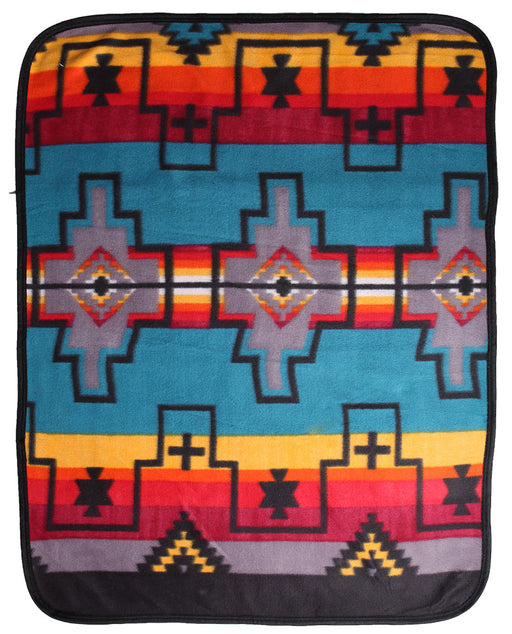 Southwest Fleece Baby Blanket #1