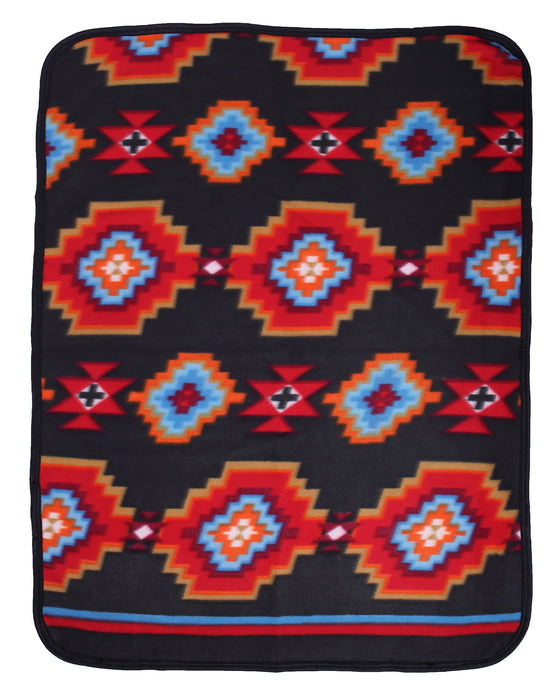 Southwest Fleece Baby Blanket #28C