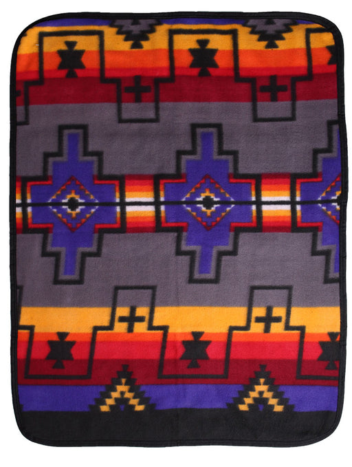 Southwest Fleece Baby Blanket #2