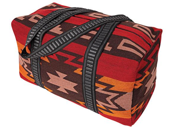 Southwest Geometric Weekender Bag in design A from El Paso Saddleblanket