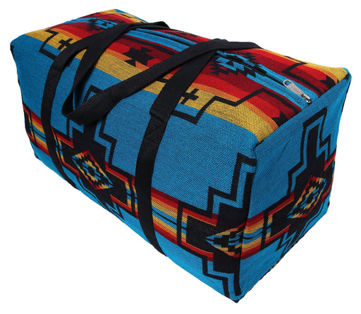 Southwest Style Travel Bag in design U from El Paso Saddleblanket