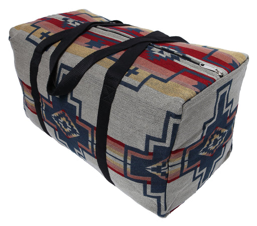 Southwest Style Travel Bag in design V from El Paso Saddleblanket