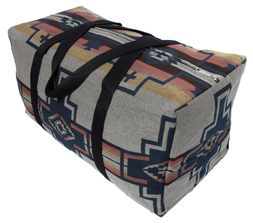 Southwest Style Travel Bag in design X from El Paso Saddleblanket