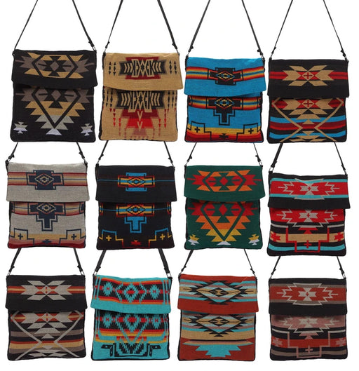 Southwest Shoulder Bags from El Paso Saddleblanket