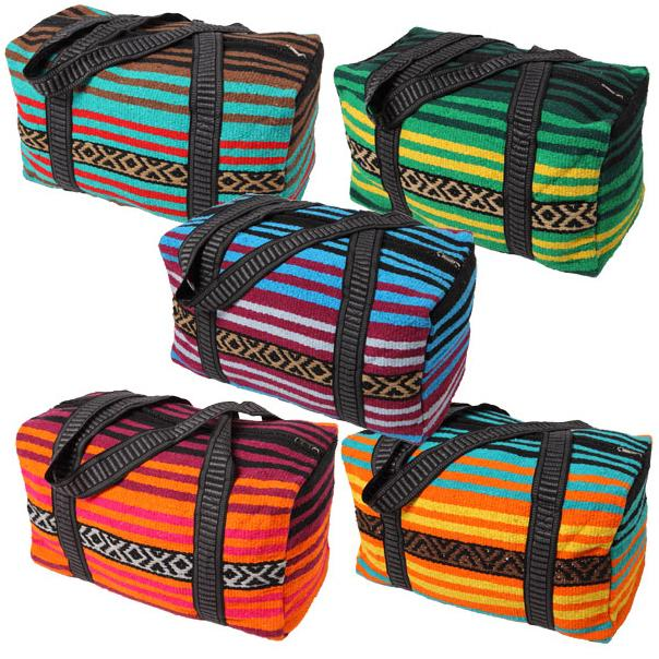 12 Pack of Popular Peyote Weekender Bags! Wholesale $10 ea.!