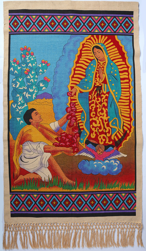 "30"" x 48""WALLHANGING (PATRON SAINT OF MEXICO)"
