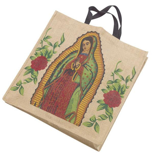 "Jute Shopping Bag 18"" x 18"""
