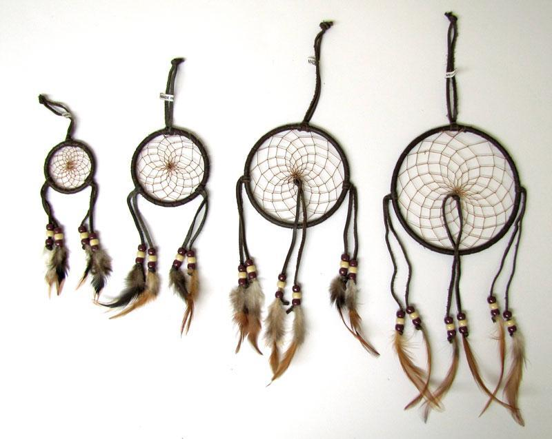 "6"" Natural Dream Catchers"