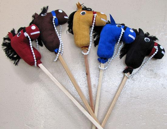 15 Buckaroo Stick Horses. WHOLESALE $6.50 each!