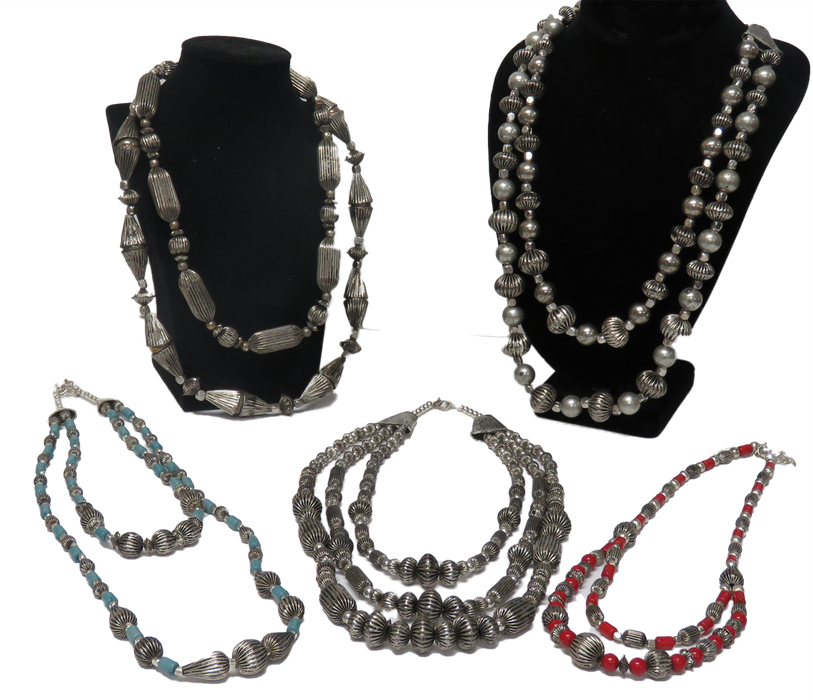CLOSEOUT ! 15 Antique-Finish Necklaces. WHOLESALE $2.75 ea.!
