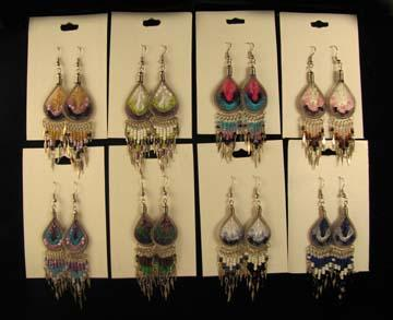 FAST SELLING! 24- Beautiful SouthWestern Earrings! WHOLESALE $2.50 each pair!