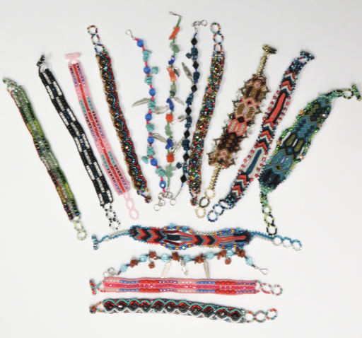 CLOSEOUT SPECIAL! 24-BEADED BRACELETS WHOLESALE ONLY $1 EACH