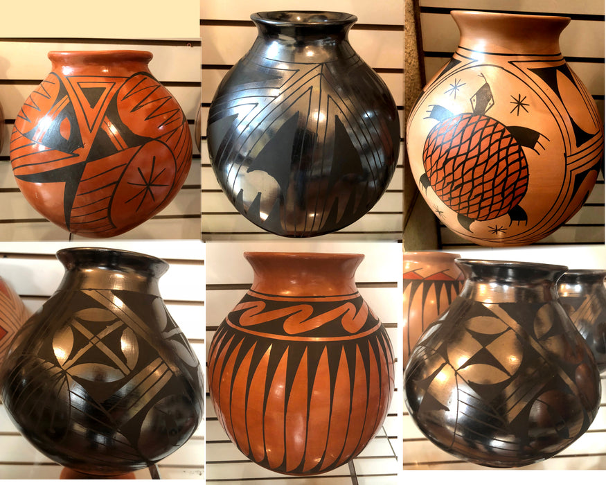 8 CASA GRANDE POTTERY MIX PACKAGE !  Wholesale $18.75 ea.!