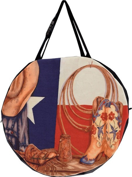 Texas Western Print Cowboy Rope Bag from El Paso Saddleblanket