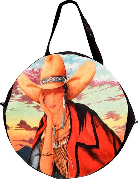 Western Cowgirl Print Rodeo Rope Bag from El Paso Saddleblanket
