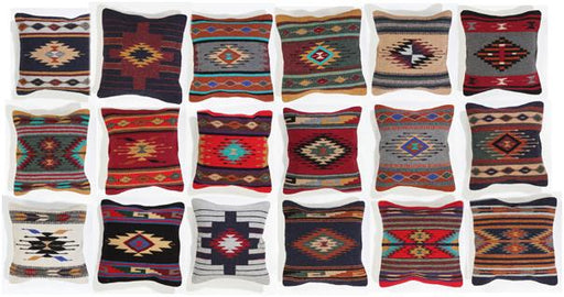 Handwoven Azteca Accent Pillow Covers