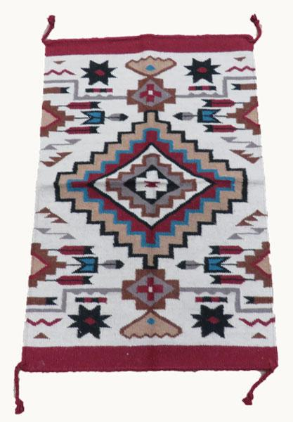 2x3 Handwoven Tapestry 826