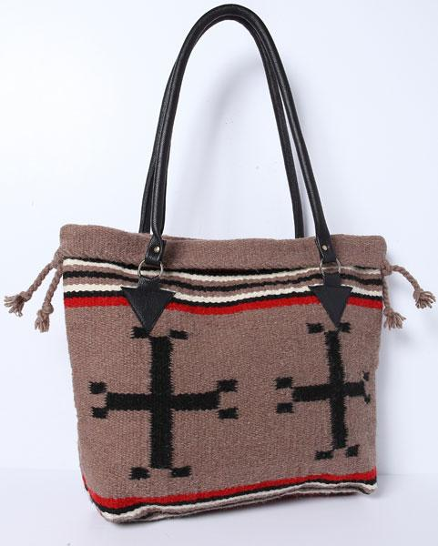 Handwoven Wool Malibu Purse H