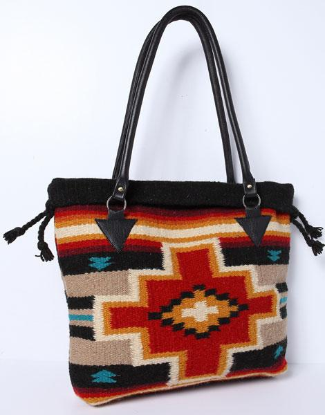 Handwoven Wool Malibu Purse O