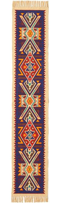Cotton Table Runner- Southwest Design