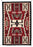 4' x 6' HANDWOVEN WOOL TRADING POST RUG 722