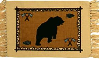 Cotton Stencil Placemat - 71