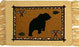 Cotton Stencil Placemat - Wildlife Bear