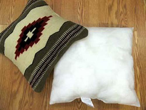 "12 Polyester Filled Pillow inserts! 20"" X 20"". Only $3.75 ea."