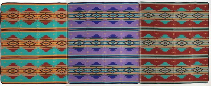 New! 3 Pack Southwest Style Queen Bedspreads!  WHOLESALE- $34 ea.