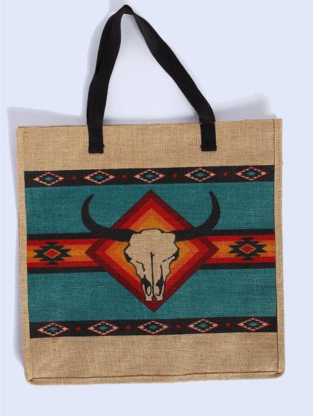 "Eco-Friendly 18"" x 18"" Jute Bag"