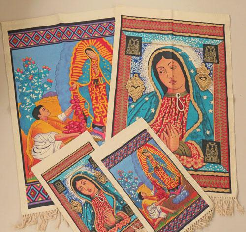 8 Virgen De Guadalupe Decorative Wallhangings! Wholesale $8.25 ea.!