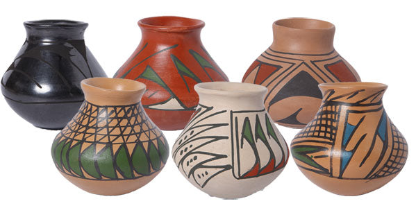 Authentic Mata Ortiz Mini Pottery