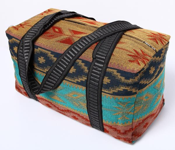 Southwest Geometric Weekender Bag in design B from El Paso Saddleblanket
