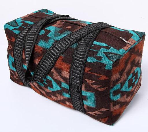Southwest Geometric Weekender Bag in design O from El Paso Saddleblanket