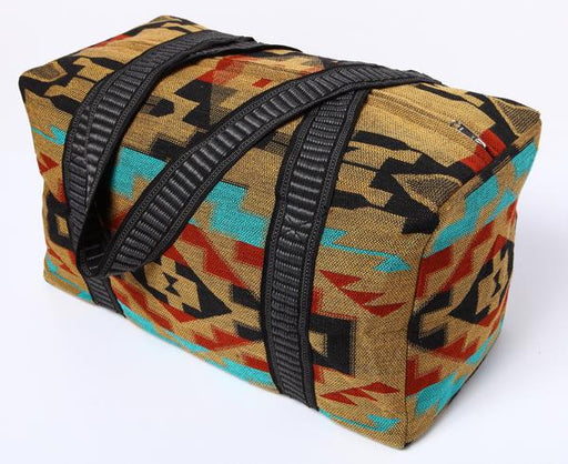 Southwest Geometric Weekender Bag in design P from El Paso Saddleblanket