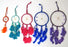 "6""  COLORFUL DREAM CATCHERS"