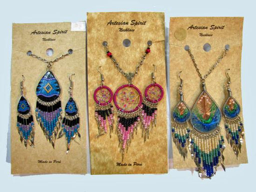 6 Southwest Pendants & Earring Sets! WHOLESALE $8 each set!