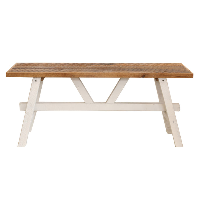White Farmhouse Coffee Table