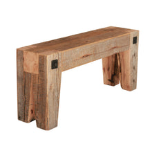 Wood Beam Bench