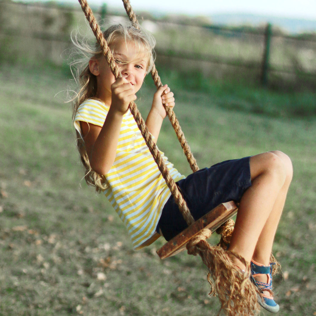 Reclaimed Wood Tree Swing - More Color and Rope Options