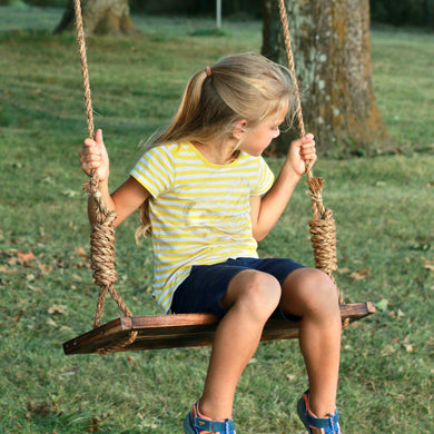 Rustic Tree Swing