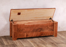 Rustic Cherry Storage Bench