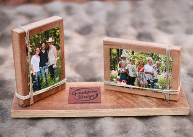 Rustic Picture Frame for 4x6 Photo - QUANTITY DISCOUNTS!