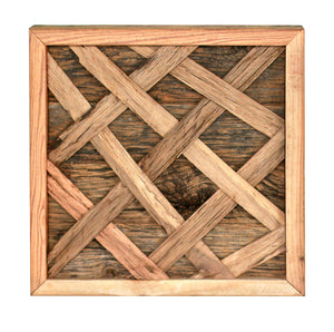 Woven Wood Wall Art