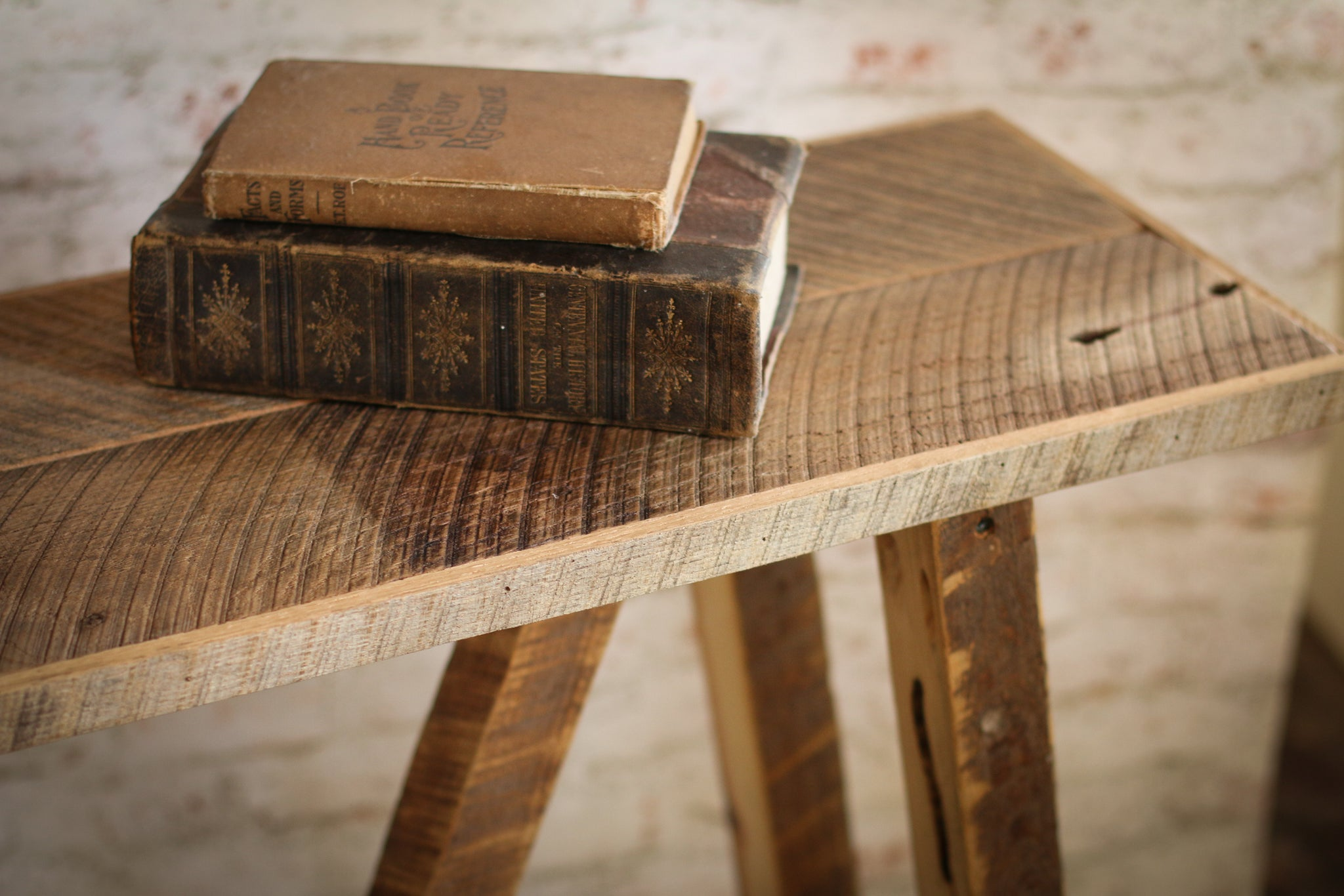 Awe Inspiring Narrow Console Table Rustic Bench Made From Reclaimed Wood Uwap Interior Chair Design Uwaporg